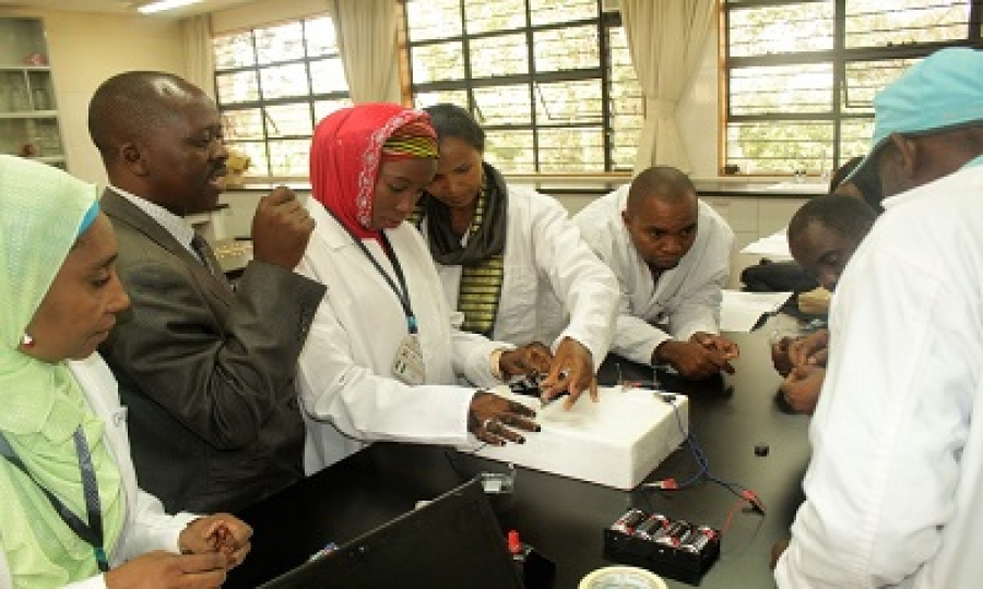 Training for teachers to encourage girls into science fields held in Nairobi