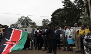 Dr. Fred Matiang's flags off STEM Equipment and launches 2nd batch of STEM schools at CEMASTEA